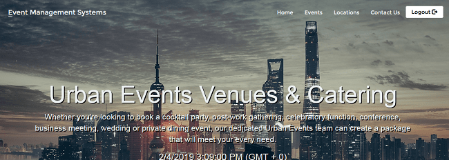 Web-based events venue management system (free PHP source codes)