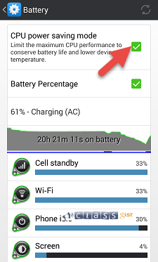 increase your Android phone's battery life