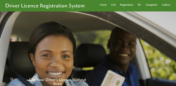 Online drivers licence registration and renewal system (PHP source codes)