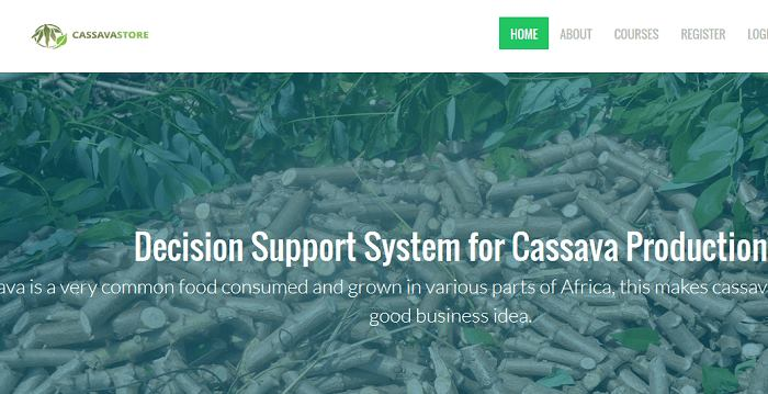 Online support system for cassava farming and production (PHP source codes)