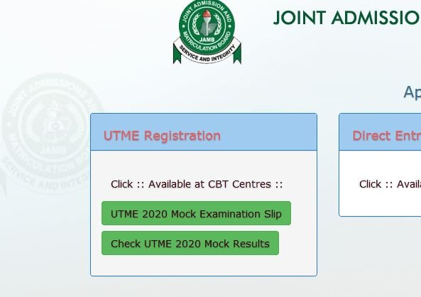 2020 JAMB mock exercise results released