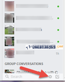 Hide your online status on Facebook chat from selected contacts/friends