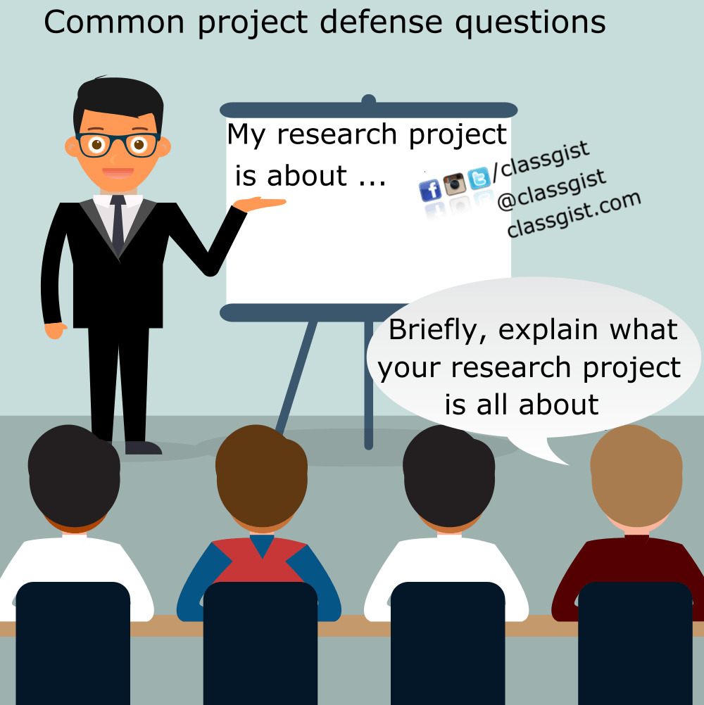 Prepare for your project defense with these common questions and answers