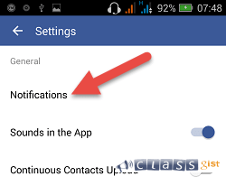 Turn off game/app invite request facebook notifications on your smartphone